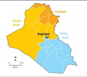 partioning Iraq