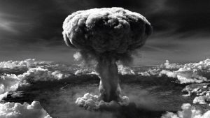 On August 6, 1945 a nuclear bomb was deployed  by the US onto Hiroshima. This was the first time in history that a nuclear weapon was used for purposes of warfare.