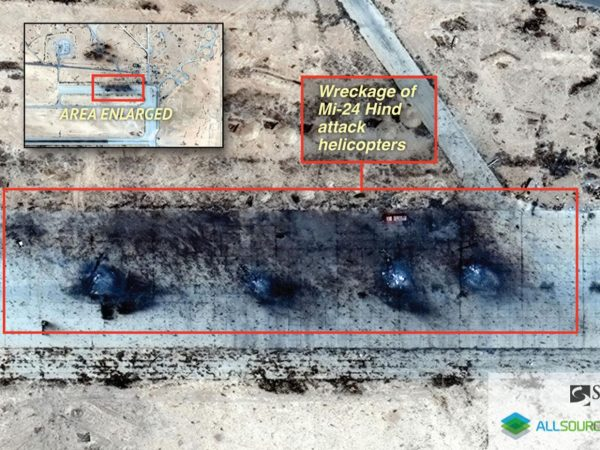 IS 'destroyed helicopters' at Russian base ib syria