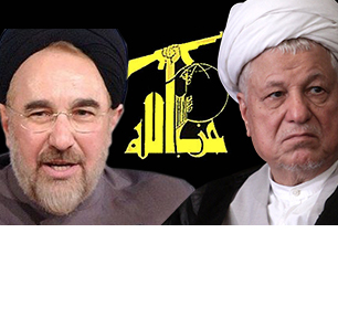 Iran's ex-President Ali Akbar Hashemi Rafsanjani had warm relations with President Hassan Rouhani (L)