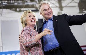 Hillary Clinton  + Timothy M. Kaine