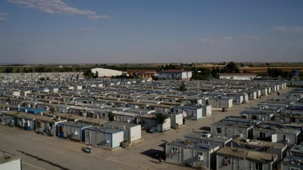 Most Syrian refugees in Turkey are covered by the Turkish government's temporary protection scheme
