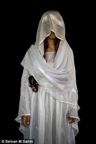 IS abducted 5,000 Yazidi women in Iraq in 2014. Some of those who escaped were photographed in wedding dresses to help illustrate their ordeal