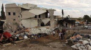 Aleppo residents described the bombing as the heaviest air bombardment of the 5 ½-year civil war. The U.N.  said that nearly 2 million people in Aleppo, Syria's largest city and onetime commercial center, are without running water following the escalation in fighting over the past few days.