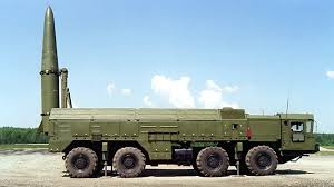 Russian Iskander-M missile launcher