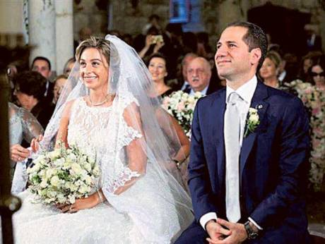 phalange party leader weds a lebanesefrench dentist