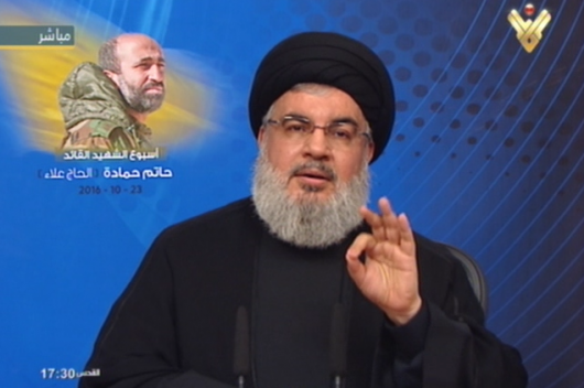 Hezbollah MPs will vote for Aoun, says Nasrallah