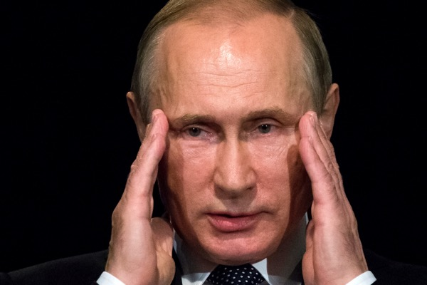 Russian President Vladimir Putin  . Just like the US, Spain sees Russian interference in Catalonia separatist vote