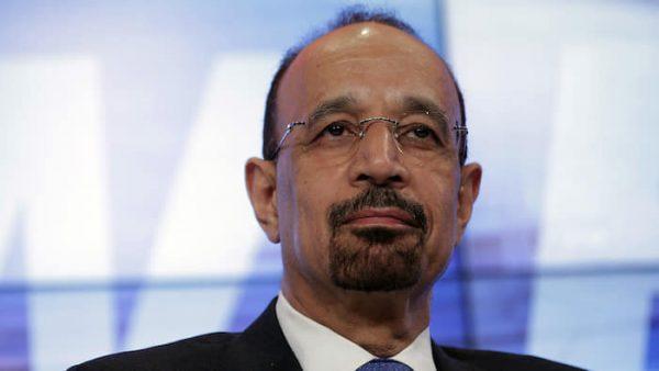 Khalid al-Falih , Saudi  Arabia's  energy minister