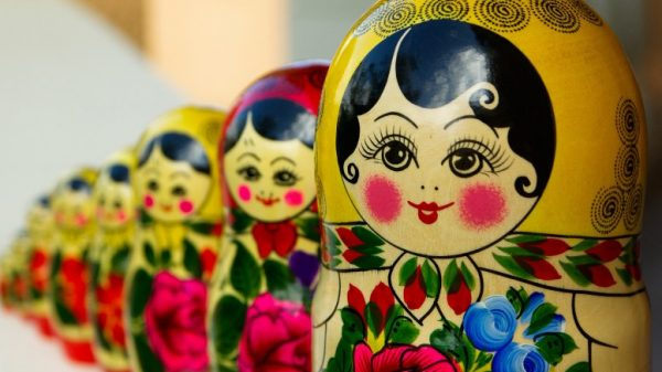 The famously-layered Russian dolls