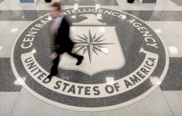 The lobby of the CIA's headquarters is shown in Langley, Va. (Larry Downing/Reuters)