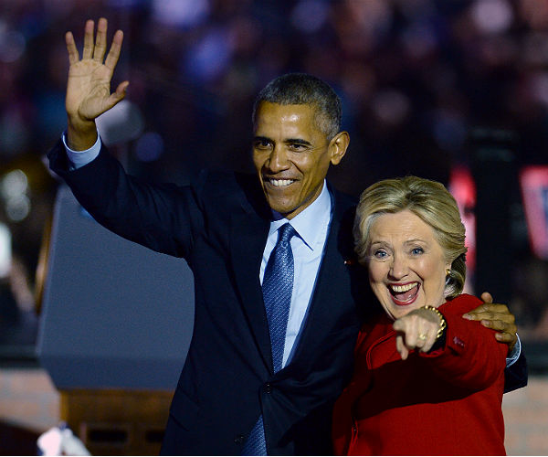 obama-clinton-most-admired
