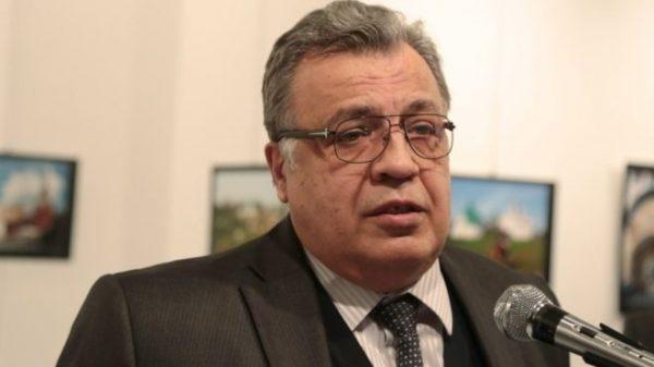 Russian ambassador to Turkey Andrei Karlov