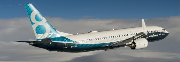 Boeing 737MAX. Iran Air purchased 50 of these planes