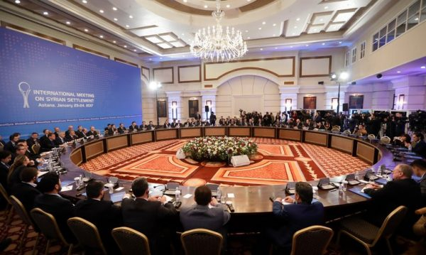 Sponsors of Syria talks in Astana strike deal on safeguarding fragile ceasefire