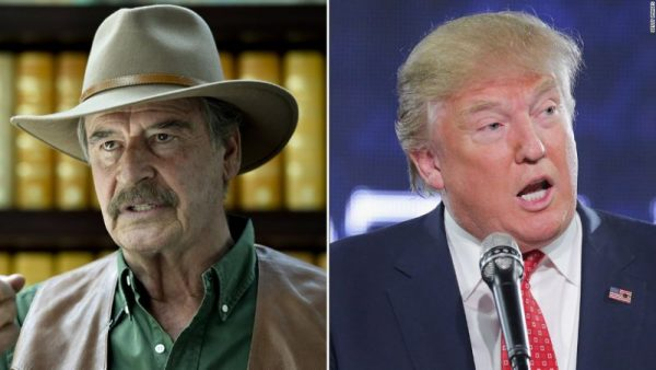 Mexico's Vicente Fox trolls Donald Trump: 'Are you a legitimate president?'