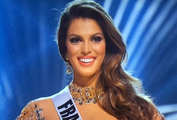 Iris Mittenaere from Lille city in northern France won the Miss Universe crown Monday in a pageant held in the Philippines, saying her triumph will make the beauty contest more popular in Europe and help her efforts to put more underprivileged children in school.
