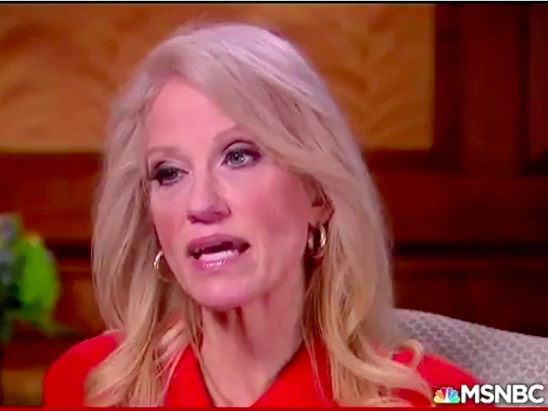 Kellyanne Conway  admitted  EARLY FEBRUARY that she erred in referring to a terror attack that never happened in an MSNBC interview.