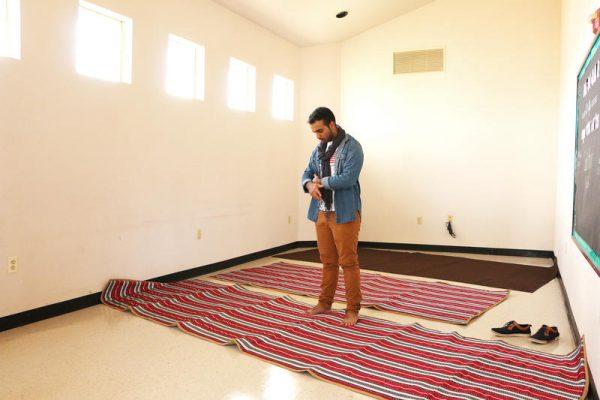 McMurry University Muslim prayer room