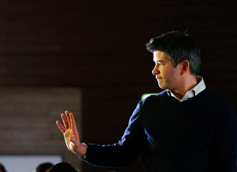 Travis Kalanick, Uber chief executive
