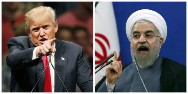 President Donald Trump warns Iranian President