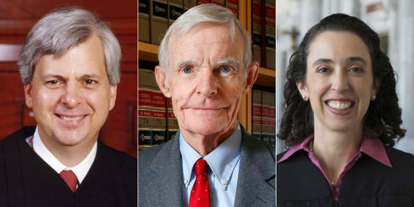 From left: Judges Richard R. Clifton, William C. Canby Jr. and Michelle T. Friedland of the United States Court of Appeals for the Ninth Circuit. Credit Left and right; U.S. Courts for the Ninth Circuit. Center; Ross D. Franklin/Associated Press