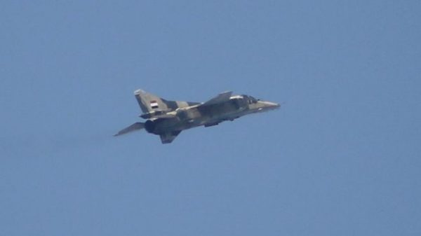 mig 23 syrian military plane