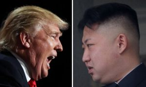 President Trump and North Korea's leader Kim Jong Un have been feuding for months.
