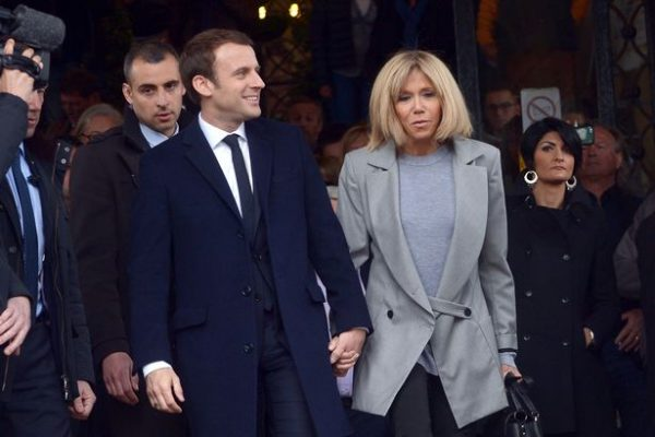 Macron's parents first opposed the relationship (Photo: Splash News)