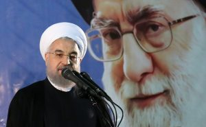 """File photo of Iran's Supreme Leader, Ayatollah Ali Khamenei (L) with president Rouhani. According to Iran's Constitution, the Supreme Leader is responsible for supervision of """"the general policies of the Islamic Republic of Iran,"""" which means that he sets the tone and direction of Iran's domestic and foreign policies. The Supreme Leader also is commander-in-chief of the armed forces and controls the Islamic Republic's intelligence and security operations; he alone can declare war or peace. He is also the supreme commander of the Islamic Revolutionary Guard Corps."""