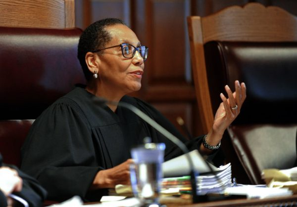 Judge Sheila Abdus-Salaam at the Court of Appeals in Albany last year. Credit Hans Pennink/Associated Press