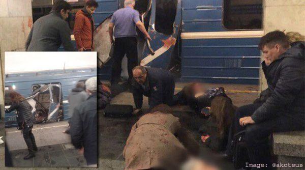 St Petersburg explosion,