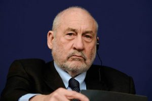 Nobel prize-winning US economist Joseph Stiglitz