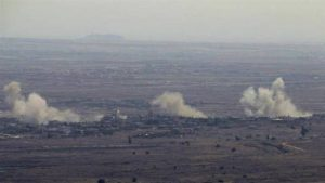 israel bombs southern syria