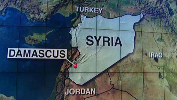 SYRIA MAP US AIRSTRIKE