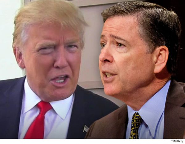 James B. Comey Jr., the F.B.I. director,( R) was fired by President Trump May 9, 2017