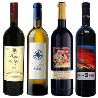 LEBANESE WINE LABELS