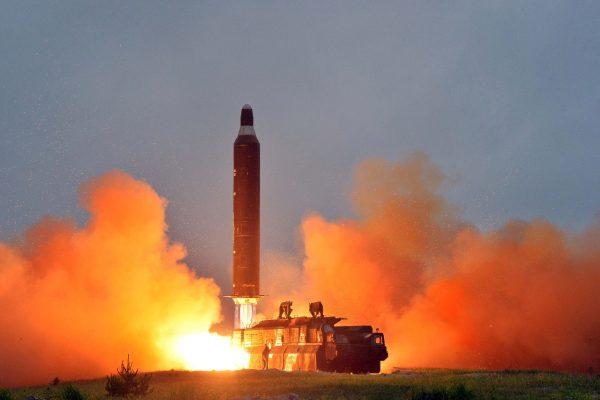 N Korea missile seen from Japan