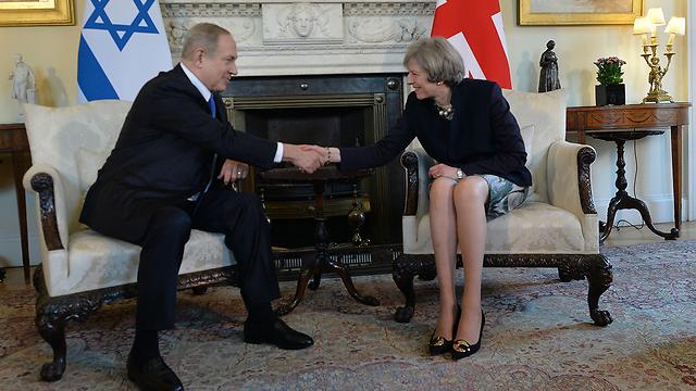 PM Netanyahu with PM Theresa May