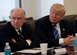 "President Trump (R) said on July 20, 2017 that he never would have appointed Attorney General Jeff Sessions (L) had he known Mr. Sessions would recuse himself from overseeing the Russia investigation that has dogged his presidency, calling the decision ""very unfair to the president."" Trump fired Sessions the day after midterm elections on Nov 7, 2018"