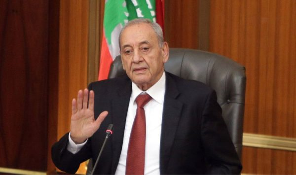 Lebanon Speaker Nabih , a close ally of the Iranian backed Hezbollah militant group said during a chat with media on Friday that he is 100 % with coordinating with the Syrian government the return of the refugees