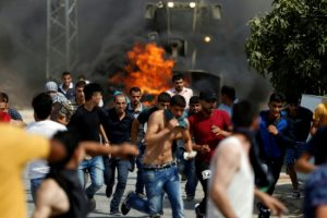 Violence at Neve Tsuf settlement in the occupied West Bank