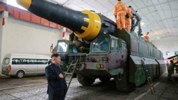 Hwasong-12 missile