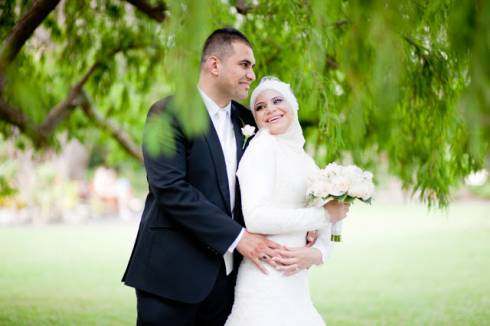 Photos of this interfaith Lebanese wedding went viral