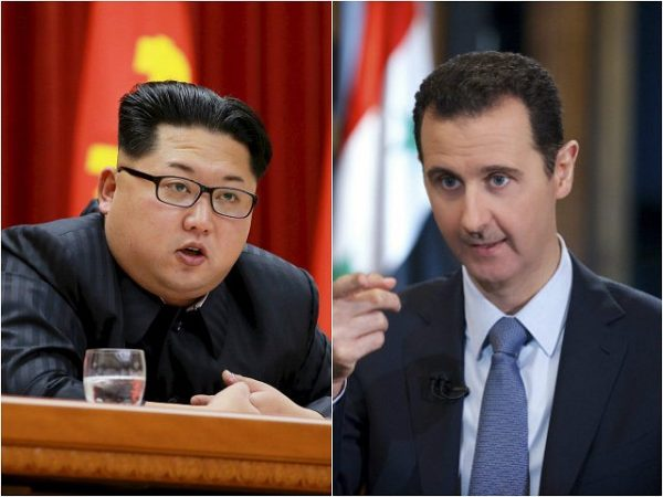kim-jong-un , bashar-assad-syria