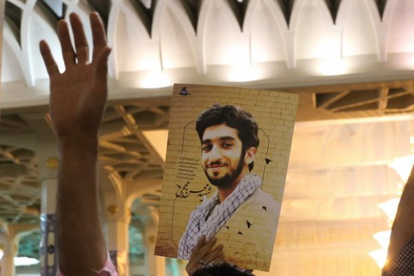 The Islamic State group has handed over the body of a recently captured Iranian Revolutionary Guard member as part of a deal . DNA tests confirmed the identity of 'Mohsen Hojaji'