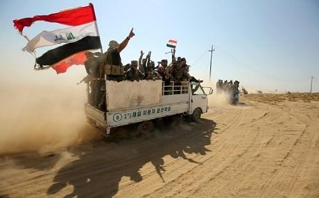 IRAQ ARMY RECAPTURES HAWIJA