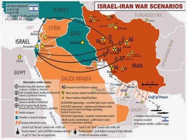 ISAREL IRAN WAR SCENARIOS
