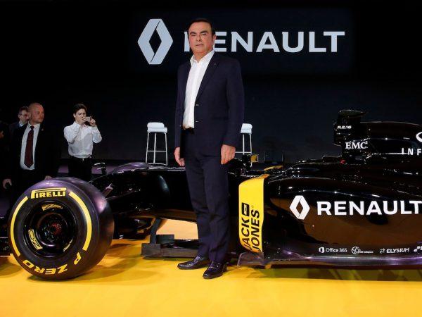carlos Ghosn Renault