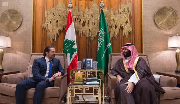 """Whenever I meet His Highness, Crown Prince Mohammed bin Salman (MBS) , I become more convinced that we and the Saudi leadership are in full agreement on Lebanon's stability and Arab identity,"" said Prime Minister Saad Hariri on Tuesday during his trip to the kingdom"
